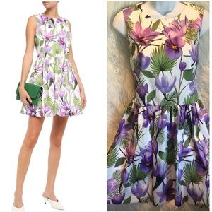 ALICE + OLIVIA Fit Flare Mini Dress 6 NWT